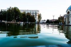 La superficie del agua Foto de archivo libre de regalías