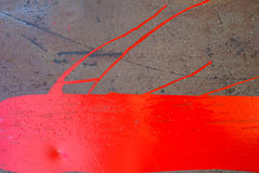 La superficie del hierro se cubre con el fondo de la textura de la pintura Foto de archivo