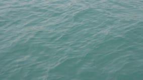 La superficie dell'oceano calmo con le piccole onde video d archivio