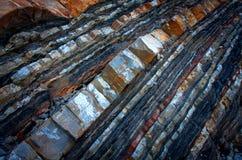 La superficie della pietra Immagine Stock