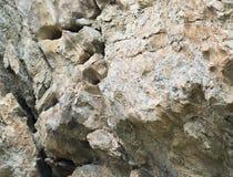 La superficie della roccia con scambio allinea, colori differenti Immagini Stock Libere da Diritti