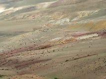 La superficie della steppa in tonalità differenti, struttura Immagini Stock Libere da Diritti