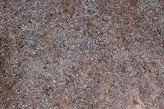 La superficie di piccole pietre e ghiaia Immagini Stock