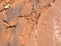 La superficie roja MacDonnell del este de la roca se extiende cerca de Alice Springs Imagenes de archivo