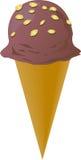 La suposición adornó el helado Imagen de archivo libre de regalías