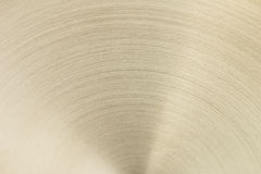 La surface d'or avec les lignes incurvées Photos stock
