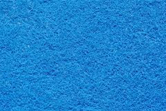 La surface d'une éponge bleue images libres de droits