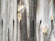 La surface de la barrière en bois faite de conseils photographie stock libre de droits