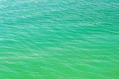 La surface de la mer Image stock