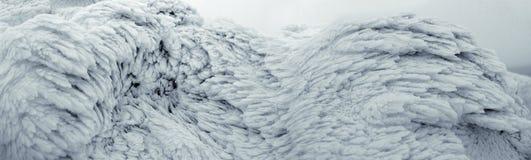La surface de la neige et de la glace Image libre de droits