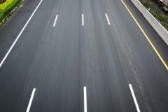 La surface de la route Photo stock