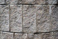 La surface du mur en pierre arrondi photo stock