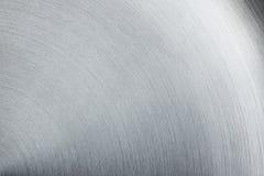 La surface en acier brillante La texture Image stock