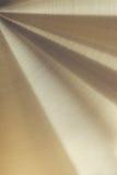 La surface métallique polie d'or Photo stock