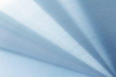 La surface métallique polie lumineuse Photographie stock libre de droits