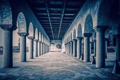 La Svezia, Stoccolma - città Hall Colonnade fotografie stock