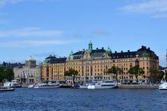 La Svezia Stokholm del centro immagini stock libere da diritti