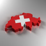 La Svizzera Fotografia Stock