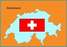 La Svizzera Immagine Stock Libera da Diritti