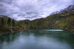 La Svizzera Alp Lake Immagini Stock