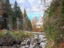 La Svizzera Axalp Fotografie Stock Libere da Diritti