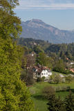 La Svizzera centrale, Lucerna Fotografie Stock Libere da Diritti