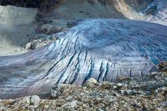 La Svizzera - ghiacciaio Fotografie Stock Libere da Diritti
