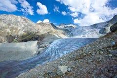 La Svizzera - ghiacciaio Fotografia Stock Libera da Diritti