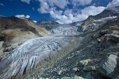 La Svizzera - ghiacciaio Fotografia Stock