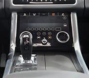 La Svizzera; Ginevra; 8 marzo 2018; Gearbo automatico di Range Rover immagine stock