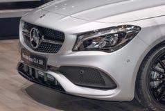 La Svizzera; Ginevra; 8 marzo 2018; Il CLA 200 di Mercedes-Benz; T fotografia stock libera da diritti