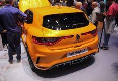 La Svizzera; Ginevra; 8 marzo 2018; Renault Megane G T rear immagine stock