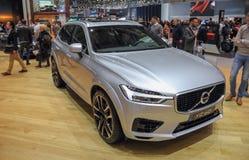 La Svizzera; Ginevra; 8 marzo 2018; Volvo XC60; L'ottantottesimo Int immagini stock libere da diritti