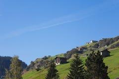 La Svizzera, Grigioni, alpi, valle di Vals, pascolo della montagna Fotografie Stock Libere da Diritti