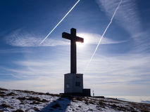 2013 - La Svizzera, il Ticino, lema del monte Immagini Stock Libere da Diritti