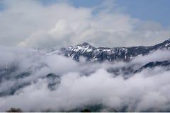 La Svizzera, la vista delle alpi Immagine Stock Libera da Diritti