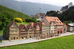 La Svizzera miniatura fotografia stock