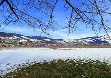 La Svizzera - Oberägeri Fotografie Stock