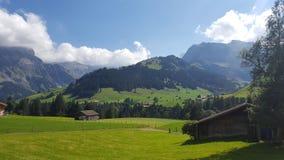 La Svizzera, outains Fotografie Stock Libere da Diritti