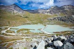 La Svizzera - paesaggio della montagna Fotografie Stock Libere da Diritti