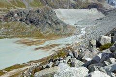 La Svizzera - paesaggio della montagna Fotografia Stock