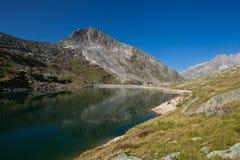 La Svizzera - paesaggio della montagna Fotografie Stock