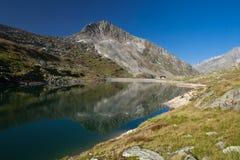 La Svizzera - paesaggio della montagna Immagine Stock