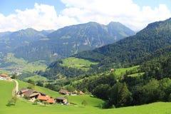 La Svizzera, paesaggio dello svizzero Fotografia Stock Libera da Diritti