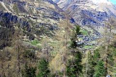 La Svizzera - Wallis Immagini Stock