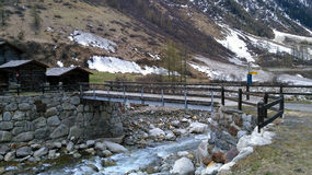 La Svizzera - Wallis Immagine Stock Libera da Diritti