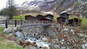 La Svizzera - Wallis Fotografie Stock