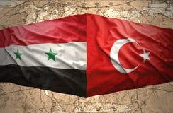 La Syrie et la Turquie Photo stock