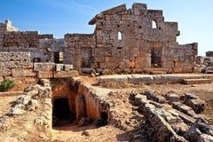 La Syrie - les villes mortes photo stock