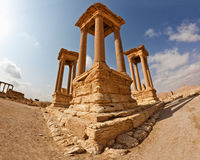 La Syrie - Palmyra (Tadmor) Image libre de droits